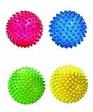 Edushape See-Me Sensory Balls, Translucent, 4 Count