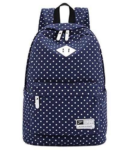 yaagle-spot-printing-canvas-leisure-backpack-fashion-college-bag-shoulder-bag-backpack-rucksack-for-