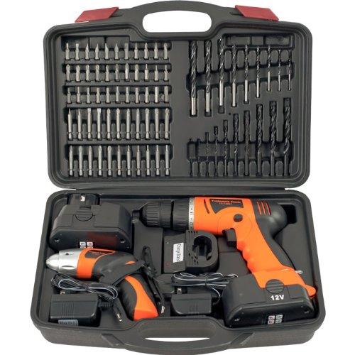 Trademark Tools(Tm) 74 Piece Combo Cordless Drill & Driver Trademark Tools(Tm) 74 Piece Combo Cordl
