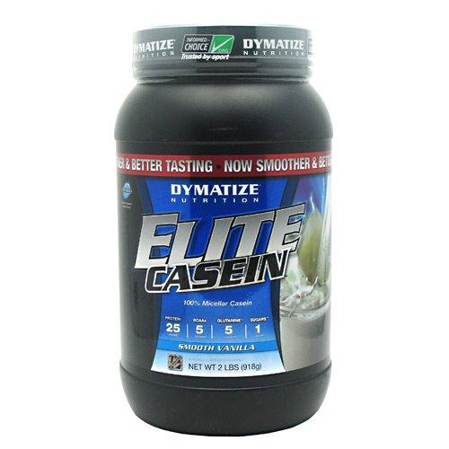 Dymatize Nutrition - Elite Casein Smooth Vanilla, 2 Lb Powder