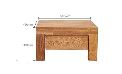 Estante, dormitorio Simple Roble de madera maciza Un bombeo Mini armarios de la cabina armarios de almacenaje Armarios Armario lateral