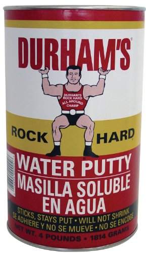 Donald Durhams 076694000046 4-Pound Rockhard Water Putty