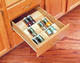 Rev-A-Shelf 4SDI-18 Spice Drawer Insert - Wood - Maple