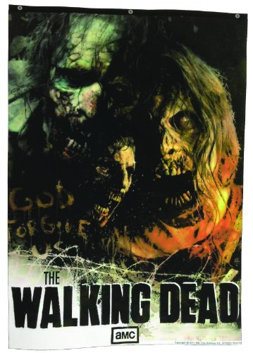 The Walking Dead TV Zombie Banner