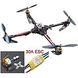 Hobbypower X525 Quadcopter Glass Friber Folding Kit ARF KK2.15 Flight Control Board w/ USB + Motor +Esc Multicopter Multi-rotor