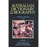 Australian Dictionary of Biography Volume 16: 1940-1980, Pik-Z
