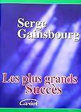 Serge Gainsbourg : Les Plus grands succ�s - chant + piano + accords