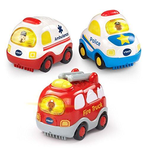 Emergency Vehicles 3-pack New