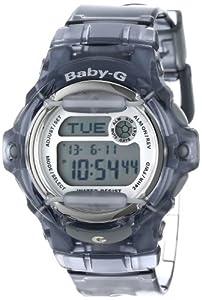 Casio Women's BG169R-8 Baby-G Gray Whale Digital Sport Watch