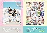 2枚セット SEVENTEEN FIRST LOVE&LETTER 1st フルアルバム 【LOVE Ver+LETTER Ver】( 韓国盤 )【限定ミニフォト冊子&翻訳付】(初回限定特典20点)(韓メディアSHOP限定)