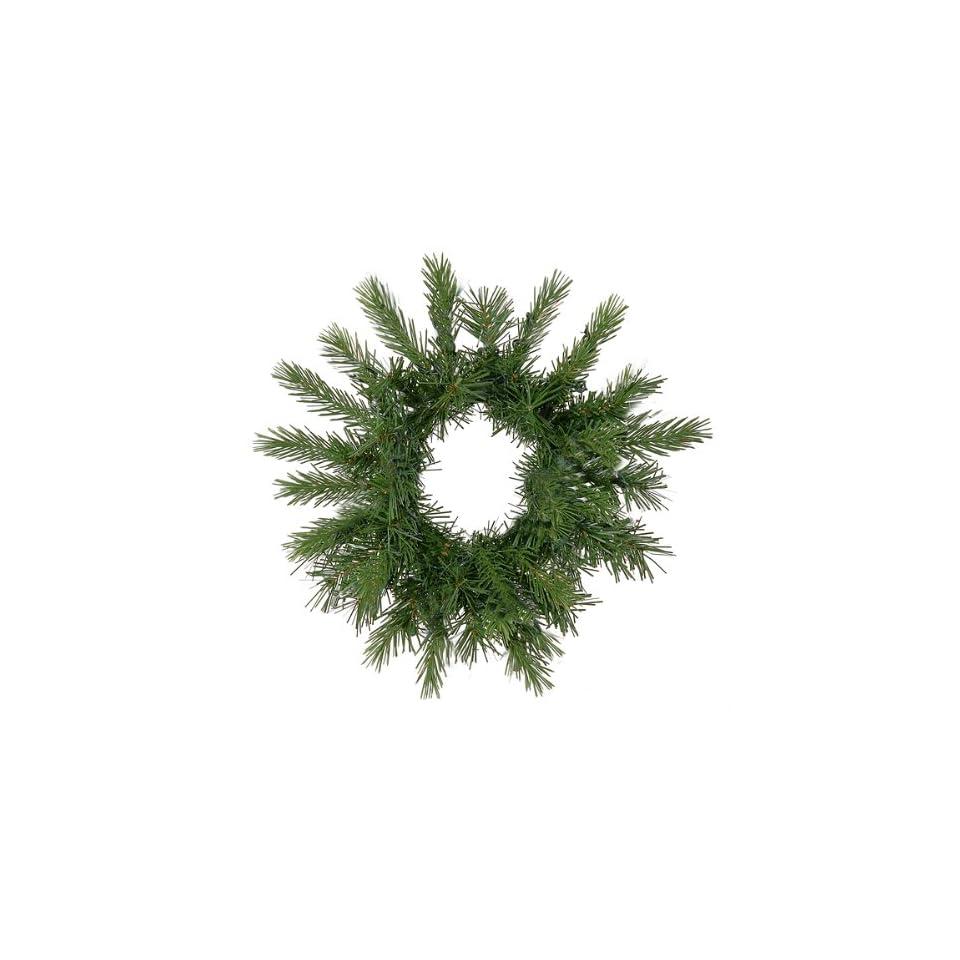 12 Unlit Tiffany Spruce Artificial Christmas Wreath
