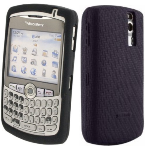 FOR BLACKBERRY CURVE 8300, 8310, 8320, 8330 BLACK SOFT SILICONE SKIN COVER CASE GEL ACCESSORIES