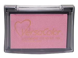 Tsukineko Full-Size VersaColor Ultimate Pigment Inkpad, Petal Pink by Tsukineko