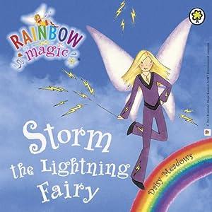 Rainbow Magic - The Weather Fairies: Storm the Lightning Fairy Audiobook