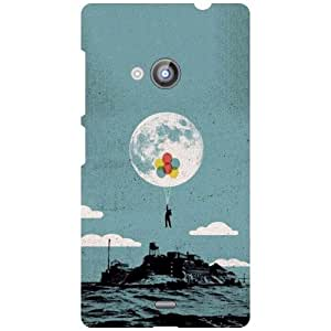 Nokia Lumia 535 Phone Cover -In The Water Matte Finish Phone Cover