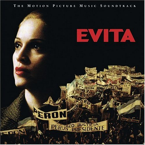 Original album cover of Evita: The Complete Motion Picture Music Soundtrack by Andrew Lloyd Webber