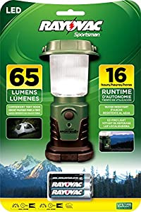 Rayovac Sportsman 150 Lumen 3AA LED Mini Lantern with Batteries (SP1W3AALN-BA)