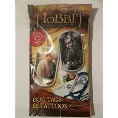 Amazon.com : The Hobbit Dog Tags & Tattoos : Other Products