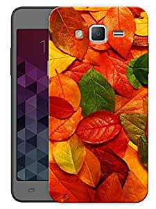 """Colorful Leaves Printed Designer Mobile Back Cover For """"Samsung Galaxy On7"""" (3D, Matte, Premium Quality Snap On Case)"""
