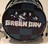 RGM323 Green Day Miniature Drumkit Rock Guitar Miniatures Billie Joe Armstrong Mike DIrnt Tre Cool Jason White Dookie American Idiot Boulevard of Broken Dreams