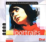 Photo du livre Photo.numerique portraits (guide pratique)