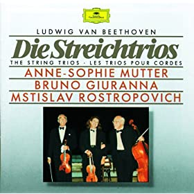 Beethoven: String Trio in E flat, Op.3 - 2. Andante