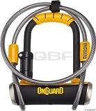 ONGUARD PitBull Mini DT U-Lock, 3.55 x 5.52-Inch
