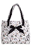 Jessie Steele Parisian Toile Tote Bag with Bow