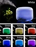 MIU COLOR®500ml Aroma Diffuser Ultrasonic Humidifier LED Color Changing Lamp Light Ionizer