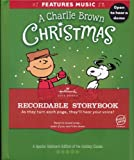 A Charlie Brown Christmas Hallmark Recordable Storybook (A Special Hallmark Edition of the Holiday Classic)