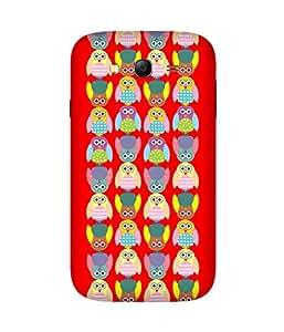 Stripes And Elephant Print-4 Samsung Galaxy Grand 3 Case