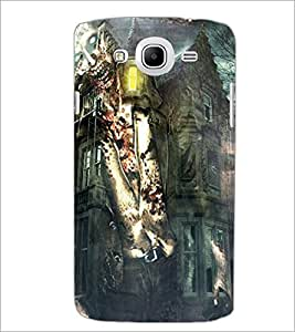 PrintDhaba Abstract Image D-4885 Back Case Cover for SAMSUNG GALAXY MEGA 5.8 (Multi-Coloured)