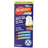 Stopain Extra Strength Pain Relief Roll-On, 3 Ounce ~ Stopain