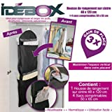 Idebox GLO6204 Storage Bag on Hanger and 4 Vacuum Pack Bags