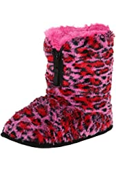 Dearfoams Women's Pile with Zipper Slipper
