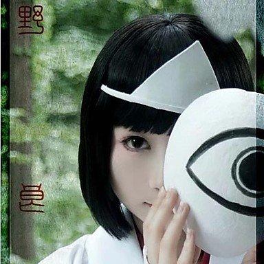 [Kaifina Noragami Nora Hiiro Black Short Cosplay Wig] (Noragami Nora Costume)