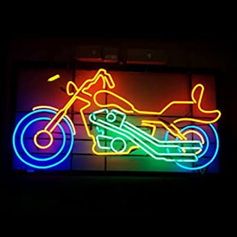 HOZER Professional Motorcycle Design Decorate Neon Light #1: 51CFl JakBL SX342