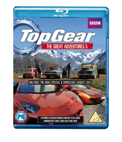 Top Gear Great Adventures 5 [Blu-ray]