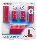 "echange, troc Wii - Charging Station ""Dual Charger"" Red Limited Edition"