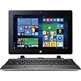 2017 Newest Acer Switch One 10 Premium 2-in-1 Laptop Tablet, 10.1 Touchscreen IPS LED Display (1280 X 800), Quad Core Intel Atom X5 Processor, 32 GB SSD, 2GB RAM, HDMI, Bluetooth, Windows 10-Silver