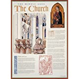 The Middle Ages- The Church Wall Poster