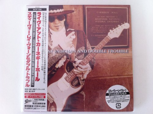 Live at The Carnegie Hall [Live] [Japanese papersleeve CD EICP 1180] by Stevie Ray Vaughan