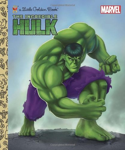 The Incredible Hulk (Marvel) (Little Golden Book)
