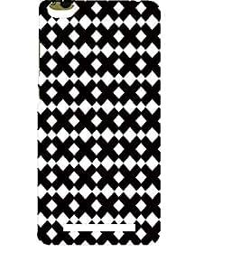 EPICCASE interlocks Mobile Back Case Cover For Xiaomi 3S Prime (Designer Case)
