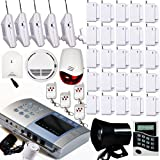 AAS-V700 Wireless Home Security Alarm System Kit DIY
