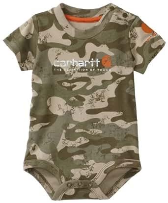 Amazon Carhartt Baby boys Infant Camo Short Sleeve