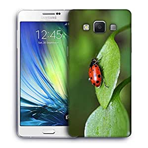 Snoogg Beatel On Leaf Designer Protective Phone Back Case Cover For Samsung Galaxy A7