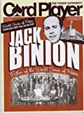 Card Player Magazine 6-17-09 JACK BINION Father of WSOP (Single Issue)