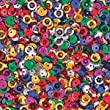 Multicolor Cup Sequins (Pack of 6000)