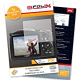 AtFoliX FX-Antireflex screen-protector for Canon PowerShot SX150 IS (3 pack) - Anti-reflective screen protection!